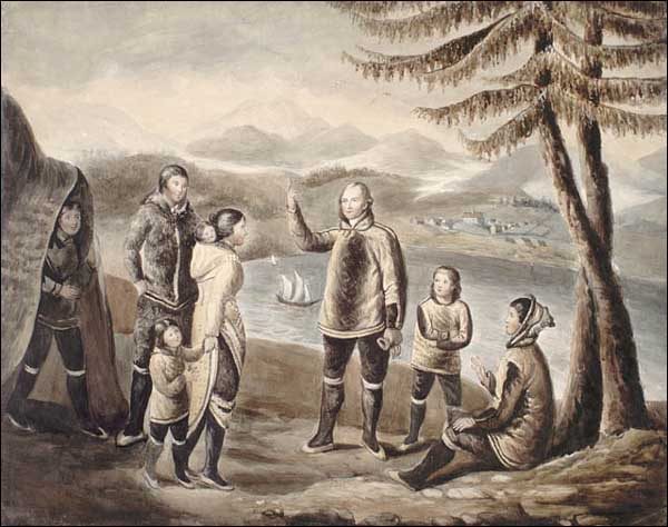 Moravian missionaries arrived at Nain, Labrador in 1771 to convert the Inuit to Christianity.