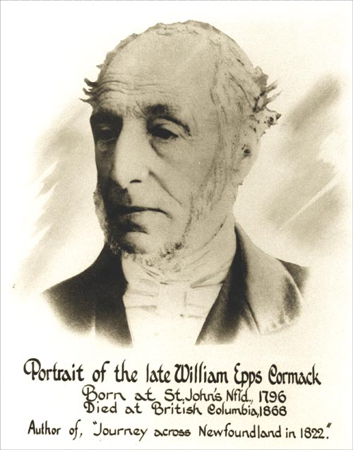 William Cormack was the first European to journey across the interior of the Island. On September 5, 1822 Cormack's expedition departed from Smith Sound, Trinity Bay and arrived in St. George's Bay on November 4th of the same year.