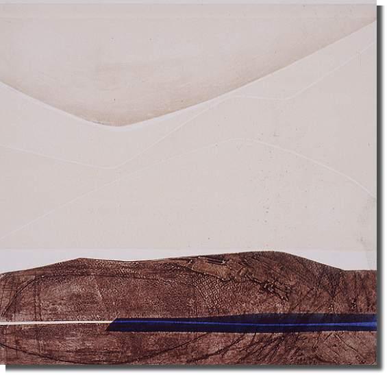 1976 Collograph, 2/25 50.2 x 53.5 cm