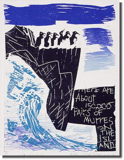 1989 Woodcut, 2/30 29.6 x 22 cm