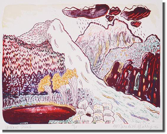 1992 Lithograph, 10/24 30.8 x 40.5 cm