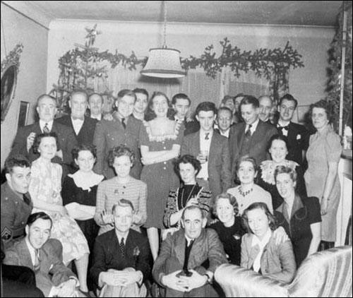 Grace Butt (second row, seated fifth from left), was an important early Newfoundland playwright and founder of the St. John's Players.