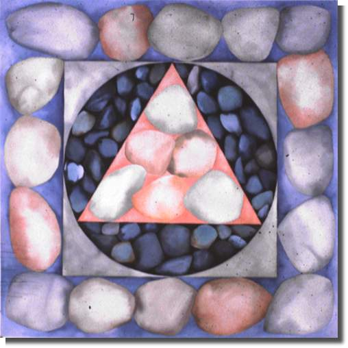 1984 Watercolour 109.2 x 109.2 cm