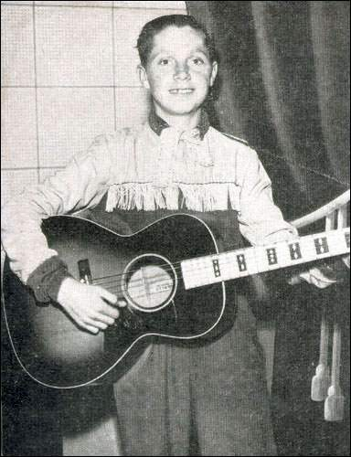 "In the 1950s, Jimmy Linegar, or the ""Kid Ranger"", had his own show on CJON radio station."