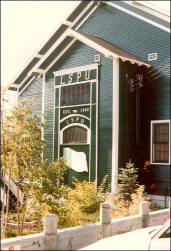 The LSPU Hall was purchased and renovated by the Mummer's Troupe.