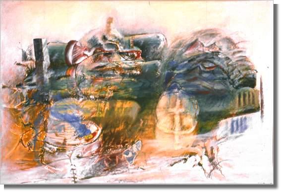 1985 Oil on Canvas 60.5 x 91.5 cm