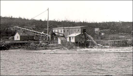 By the mid-1800s sawmills began to emerge around the island.