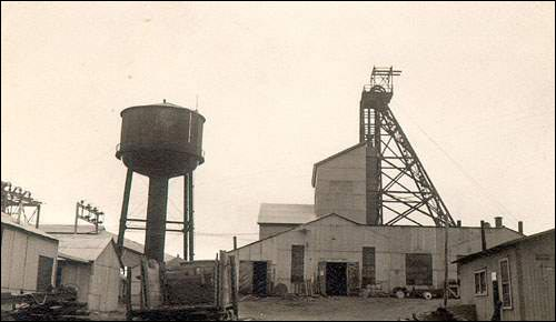 The Buchans mine was dependent on the railway.