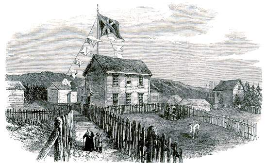 In July 1865 a cable was successfully laid between Valentia, Ireland and Heart's Content.