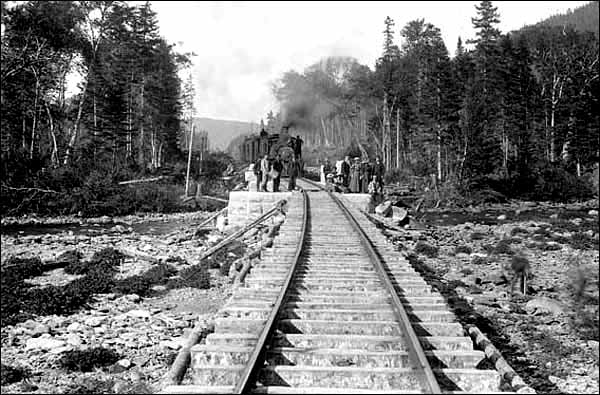 Construction of the railway dramatically impacted the development of land-based industries in Newfoundland and Labrador.