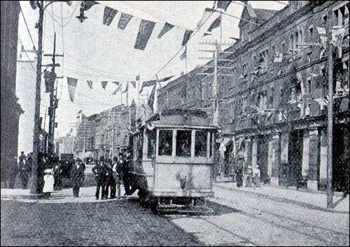 The St. John's streetcar system operated from 1900 to 1948.
