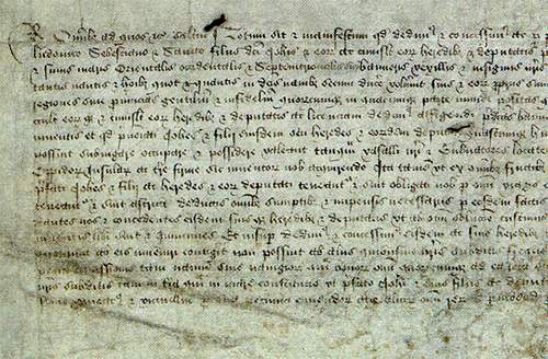 On 5 March 1496, King Henry VII granted a letters patent to John Cabot and his sons. This permitted them to investigate, claim and possess any new lands so long as they did not intrude on Spanish or Portuguese territories.