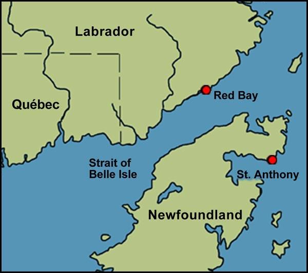 Basque Whaling in Red Bay, Labrador