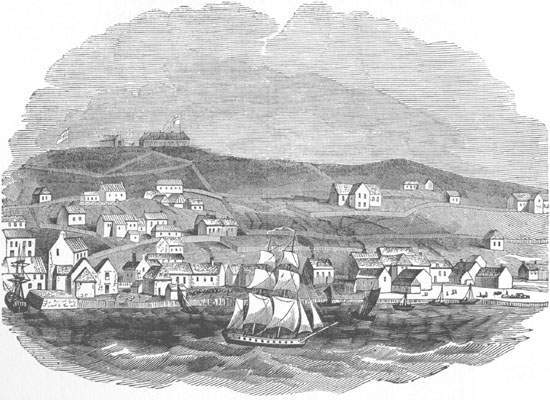 St. John's had about 1,000 permanent residents during the 1760s.