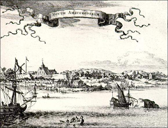 The Dutch fleet arrived in Ferryland, Newfoundland from New Amsterdam, which they had successfully recaptured from the British in July 1673.