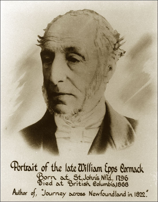 Born in St. John's but raised in Scotland, explorer William Cormack trekked across Newfoundland in 1822. His writings provide important insight into the daily lives of local residents.
