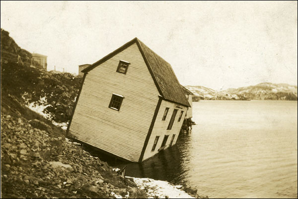 The 1929 tsunami caused about $1 million in property damage on Newfoundland's Burin Peninsula.