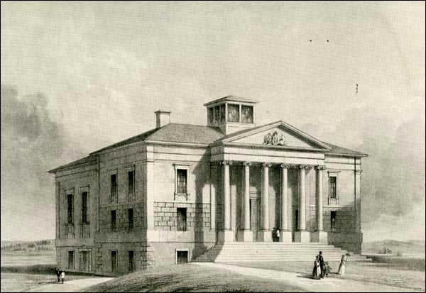 The Colonial Building housed both branches of the Newfoundland Legislature after it opened in 1850.