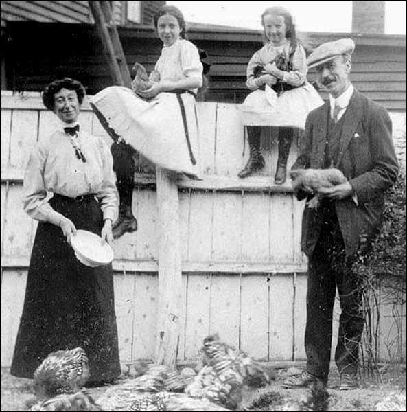 Fannie McNeil, ca. 1910