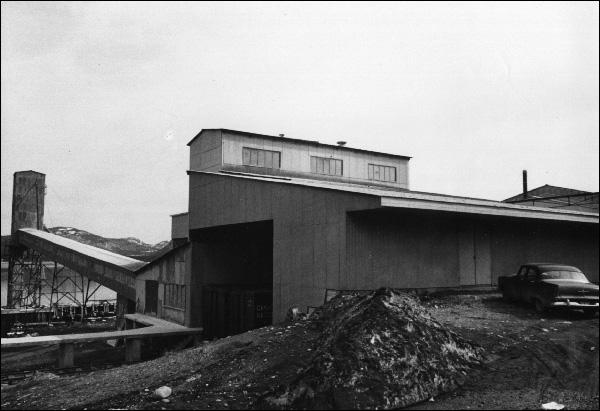 North Star Cement facilities at Corner Brook.