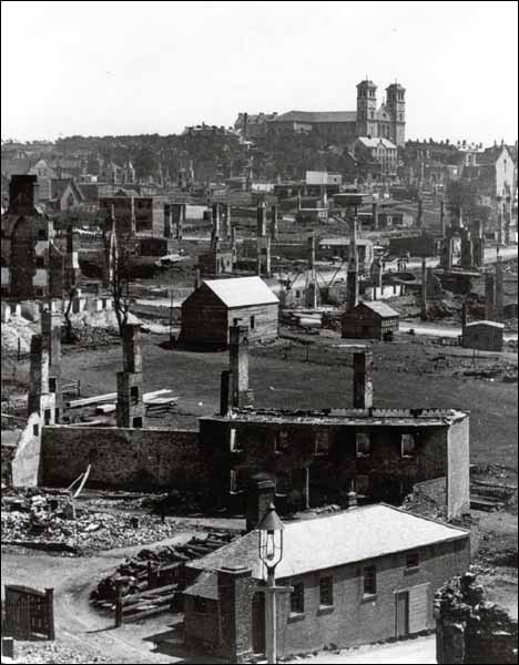 The Great Fire of 1892 burned down most of St. John's in just 12 hours and left 11,000 people homeless. The disaster prompted the Newfoundland and Labrador government to restructure the city's fire departments.