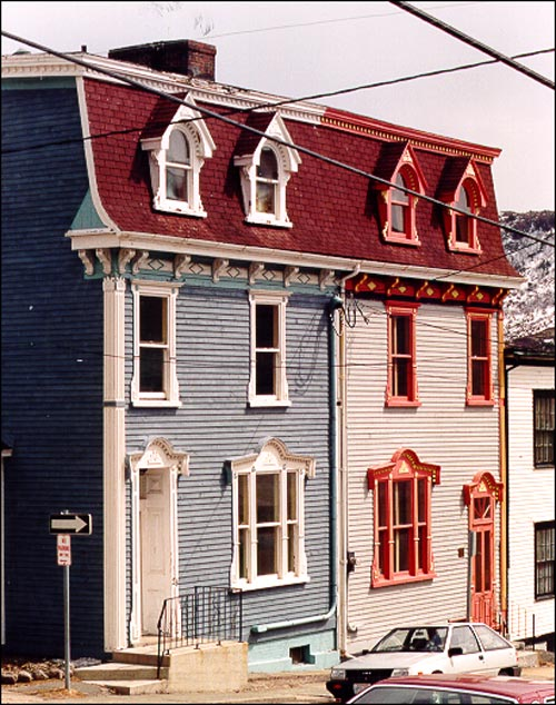 Built in the Second Empire or Southcott style, 28 Cochrane Street is a good example of a typical late 19th century house in downtown St. John's.