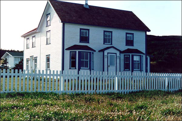 The Adams Home is an excellent example of a typical merchant/ fisherman's house in rural Newfoundland.