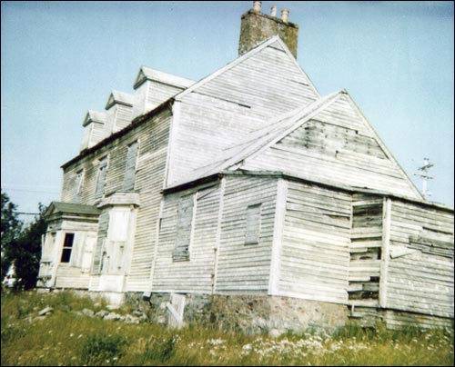 A Georgian style home, the William Alexander House is the only one of its kind in Bonavista.