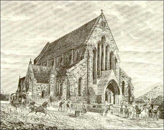 The foundation stone was laid in 1847 and the nave was completed in 1850.