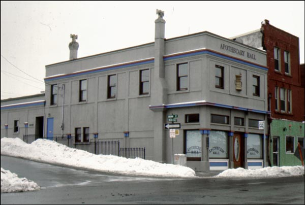 Apothecary Hall is a good example of an early 20th century commercial building in downtown St. John's.