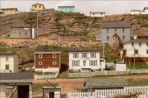 Outports for Newfoundland houses