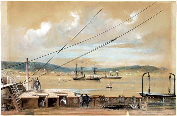 Heart's Content, NL served as a terminus for the world's first submarine transatlantic telegraph cable.