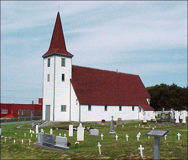 St  John the Evangelist Church, Topsail, CBS, NL