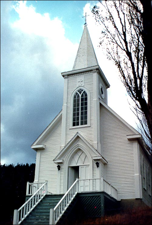 St Patrick S Church Woody Point Bonne Bay Nl