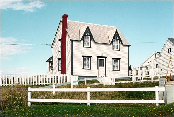 Alexander and Jennie Templeman House is one of the best examples of a small-scale Gothic Revival structure in Bonavista.