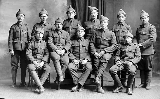 Recruiting The Newfoundland Regiment