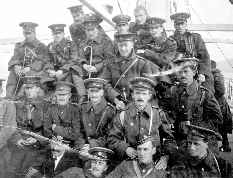 Embarking Royal Newfoundland Regiment In The First World War