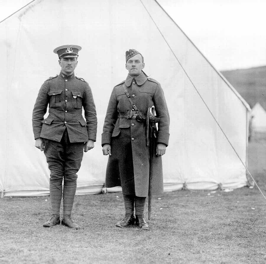Training Royal Newfoundland Regiment In The First World War