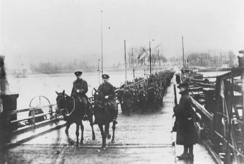Le Newfoundland Regiment 1918 Fin De La Guerre